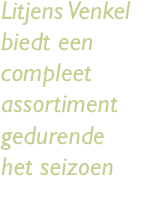 Tekst links assortiment